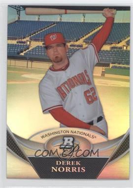 2011 Bowman Platinum Prospects Refractor #BPP47 - Derek Norris