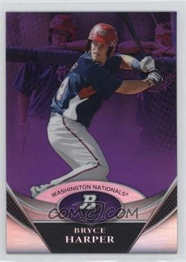2011 Bowman Platinum Prospects Retail Purple Refractor #BPP1 - Bryce Harper