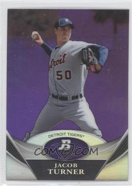 2011 Bowman Platinum Prospects Retail Purple Refractor #BPP25 - Jacob Turner
