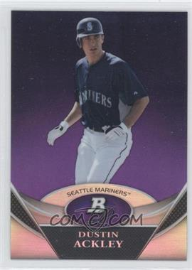 2011 Bowman Platinum Prospects Retail Purple Refractor #BPP32 - Dustin Ackley