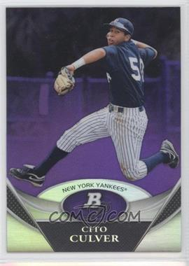 2011 Bowman Platinum Prospects Retail Purple Refractor #BPP37 - Cito Culver