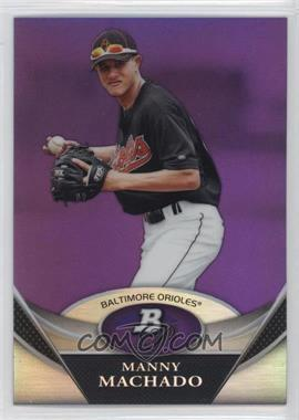 2011 Bowman Platinum Prospects Retail Purple Refractor #BPP83 - Manny Machado