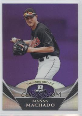 2011 Bowman Platinum Prospects Retail Purple Refractor #BPP83 - Manny Machado