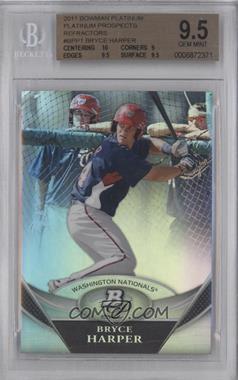 2011 Bowman Platinum Prospects #BPP1 - Bryce Harper [BGS9.5]
