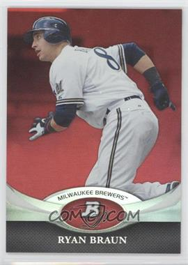 2011 Bowman Platinum Red #17 - Ryan Braun