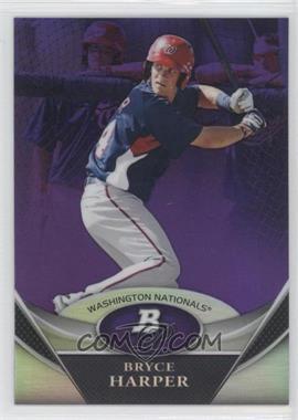 2011 Bowman Platinum Retail Prospects Purple Refractor #BPP1 - Bryce Harper