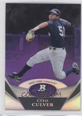 2011 Bowman Platinum Retail Prospects Purple Refractor #BPP37 - Cito Culver
