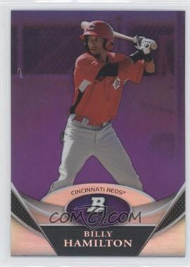 2011 Bowman Platinum Retail Prospects Purple Refractor #BPP38 - Billy Hamilton