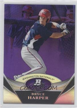 2011 Bowman Platinum Retail Prospects Purple Refractor #BPPI - Bryce Harper