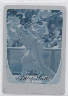 2011 Bowman Printing Plate Cyan #135 - Chris Young /1