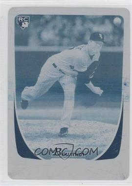 2011 Bowman Printing Plate Cyan #211 - Gregory Infante /1