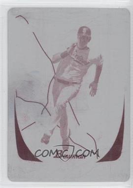 2011 Bowman Printing Plate Magenta International #110 - Ryan Ludwick /1