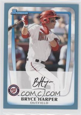 2011 Bowman Prospects Blue #BP1 - Bryce Harper /500