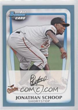2011 Bowman Prospects Blue #BP25 - Jonathan Schoop /500
