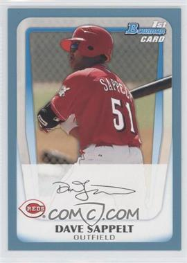 2011 Bowman Prospects Blue #BP37 - Dave Sappelt /500