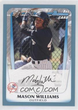2011 Bowman Prospects Blue #BP85 - Mason Williams /500