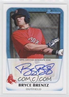 2011 Bowman Prospects Certified Autograph [Autographed] #BPA-BB - Bryce Brentz