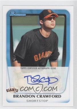 2011 Bowman Prospects Certified Autograph [Autographed] #BPA-BC - Brandon Crawford