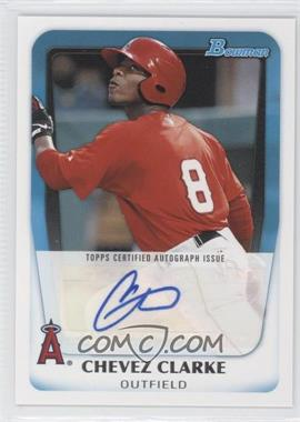 2011 Bowman Prospects Certified Autograph [Autographed] #BPA-CC - Chevez Clarke