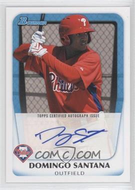2011 Bowman Prospects Certified Autograph [Autographed] #BPA-DS - Domingo Santana