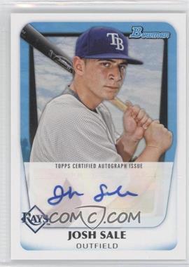 2011 Bowman Prospects Certified Autograph [Autographed] #BPA-JS - Josh Sale