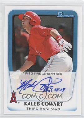 2011 Bowman Prospects Certified Autograph [Autographed] #BPA-KC - Kaleb Cowart