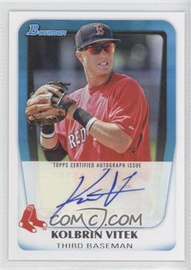 2011 Bowman Prospects Certified Autograph [Autographed] #BPA-KV - Kolbrin Vitek