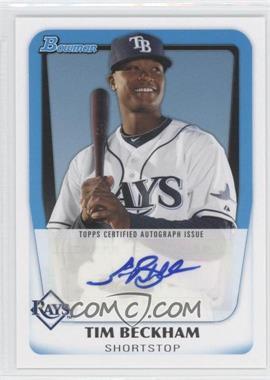 2011 Bowman Prospects Certified Autograph [Autographed] #BPA-TB - Tim Beckham