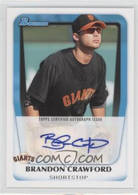 2011 Bowman Prospects Certified Autographs #BPA-BC - Brandon Crawford