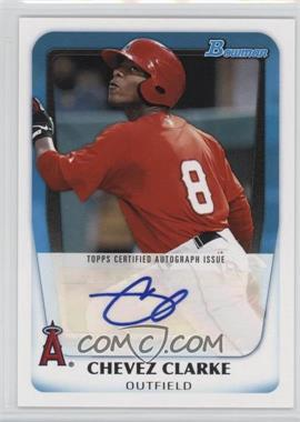 2011 Bowman Prospects Certified Autographs #BPA-CC - Chevez Clarke