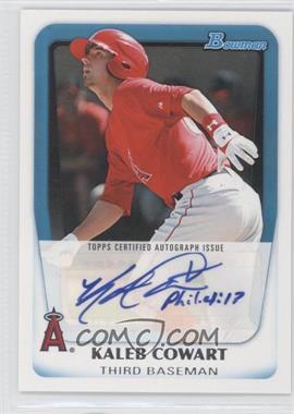 2011 Bowman Prospects Certified Autographs #BPA-KC - Kaleb Cowart
