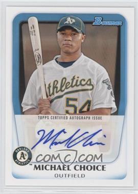 2011 Bowman Prospects Certified Autographs #BPA-MC - Michael Choice