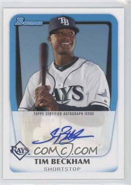2011 Bowman Prospects Certified Autographs #BPA-TB - Tim Beckham