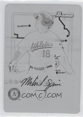 2011 Bowman Prospects International Printing Plate Black #BP30 - Michael Spina /1