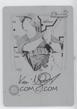 2011 Bowman Prospects International Printing Plate Black #BP56 - Kevin Mailloux /1