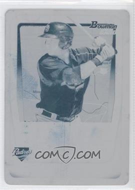 2011 Bowman Prospects International Printing Plate Cyan #BP35 - Jason Hagerty /1