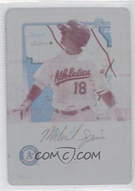 2011 Bowman Prospects International Printing Plate Magenta #BP30 - Michael Spina /1