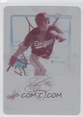 2011 Bowman Prospects International Printing Plate Magenta #BP91 - Blake Smith /1