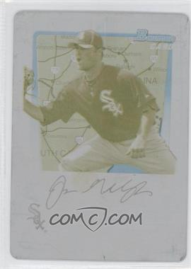 2011 Bowman Prospects International Printing Plate Yellow #BP74 - Jim Gallagher /1