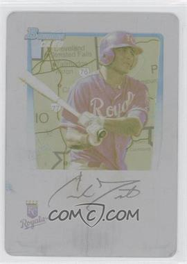 2011 Bowman Prospects International Printing Plate Yellow #BP9 - Carlo Testa /1
