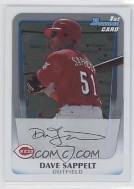 2011 Bowman Prospects International #BP37 - Dave Sappelt
