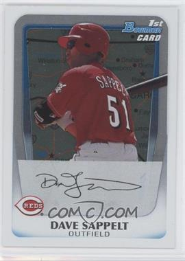 2011 Bowman Prospects International #BP37 - Dave Sappelt