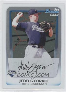 2011 Bowman Prospects International #BP83 - Jedd Gyorko