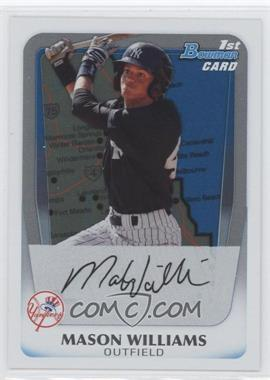2011 Bowman Prospects International #BP85 - Mason Williams
