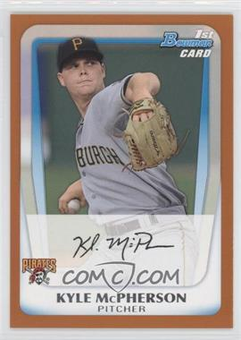 2011 Bowman Prospects Orange #BP31 - Kyle McPherson /250