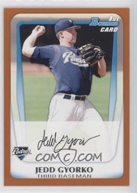 2011 Bowman Prospects Orange #BP83 - Jedd Gyorko /250