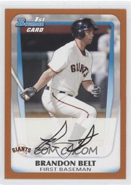2011 Bowman Prospects Orange #BP93 - Brandon Belt /250
