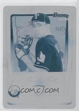 2011 Bowman Prospects Printing Plate Cyan International #BP33 - Joseph Wieland /1