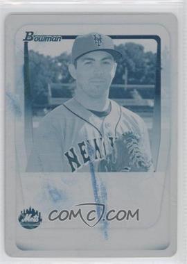 2011 Bowman Prospects Printing Plate Cyan #BP51 - Jon Fuller /1
