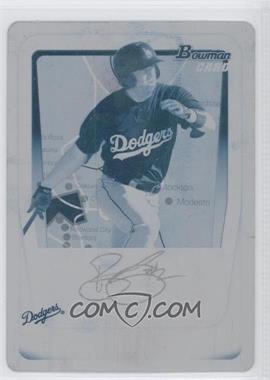 2011 Bowman Prospects Printing Plate Cyan #BP91 - Blake Smith /1